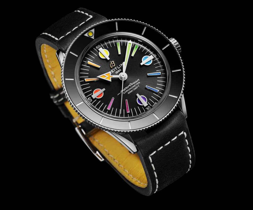 11 Superocean Heritage 57 Limited Edition With A Black Vintage Inspired Leather Strap 2 1024x851