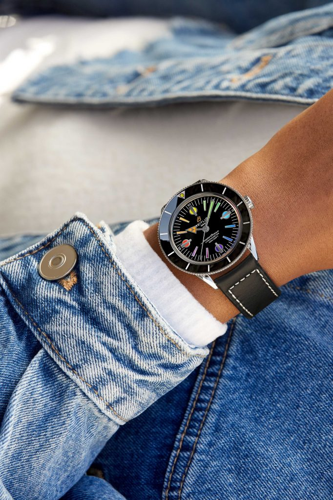 12 Superocean Heritage 57 Limited Edition With A Black Vintage Inspired Leather Strap 682x1024