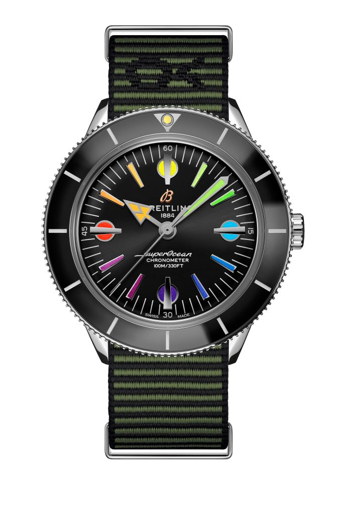 21 Superocean Heritage 57 Limited Edition With A Green Outerknown Econyl Yarn Nato Strap 713x1024