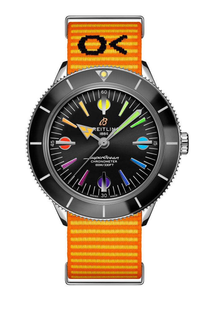 24 Superocean Heritage 57 Limited Edition With An Orange Outerknown Econyl Yarn Nato Strap 713x1024