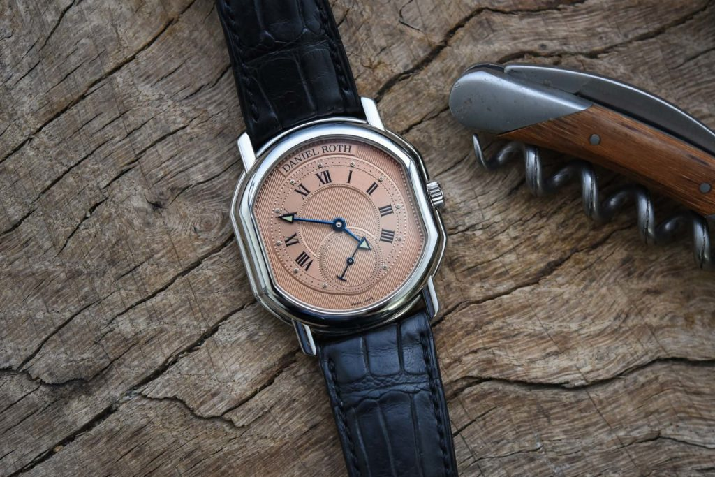 The Collectors Series Frank And His Daniel Roth Small Seconds With Salmon Dial 1536x1025 1 1024x683