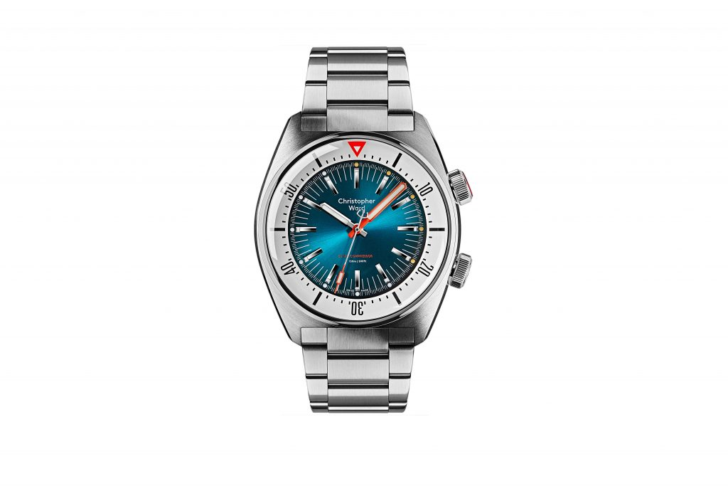 2020.06.29 CW 11263 Supercompressor2762 PICTURE 1 MAIN WATCH TEAL DIAL BRACELET 1024x683