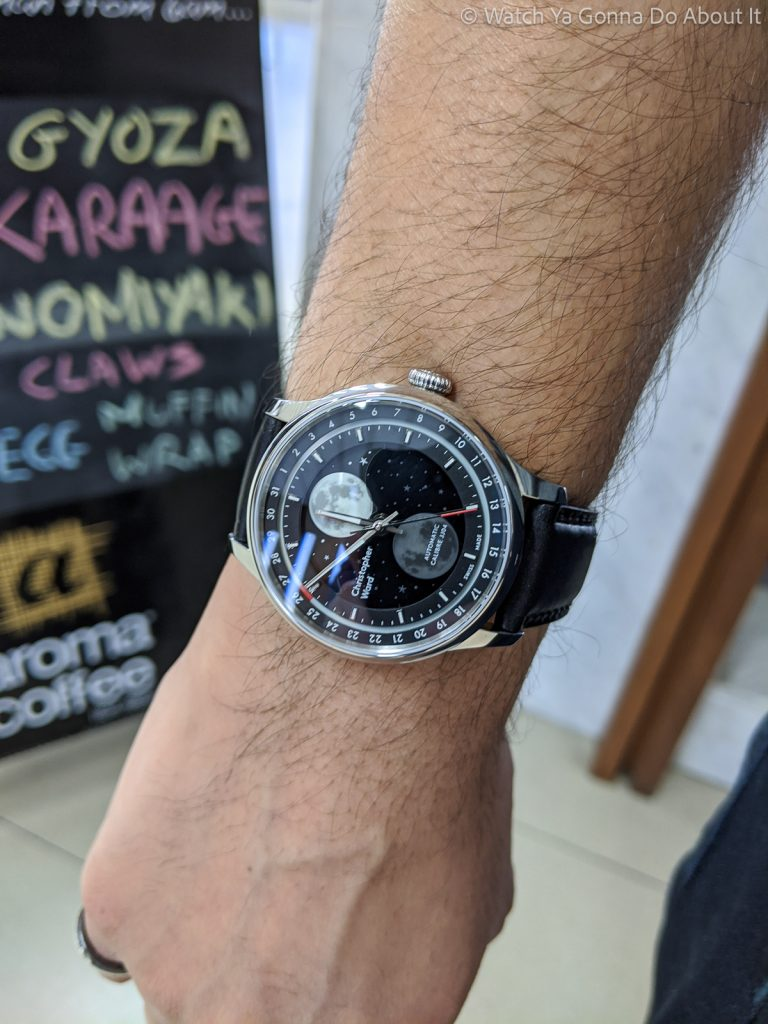 Christopher Ward Moonglow Hands On 74 768x1024