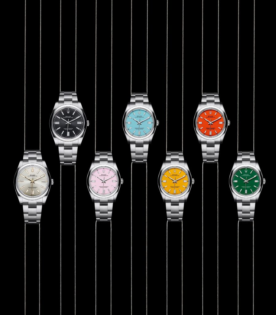 Oyster Perpetual Colour Options 899x1024
