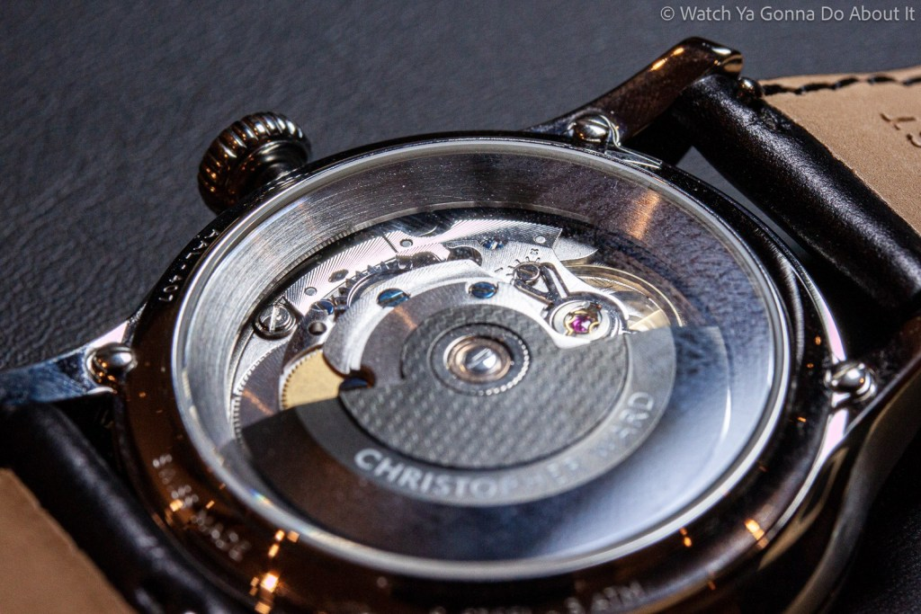 Christopher Ward Moonglow Hands On 17