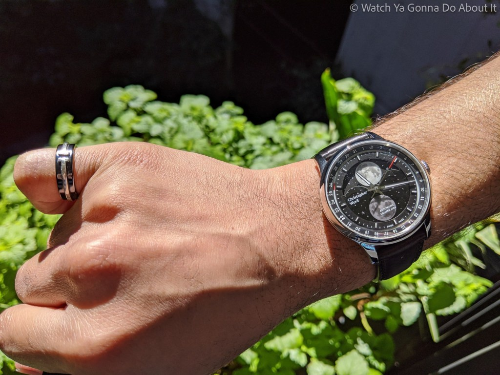 Christopher Ward Moonglow Hands On 69