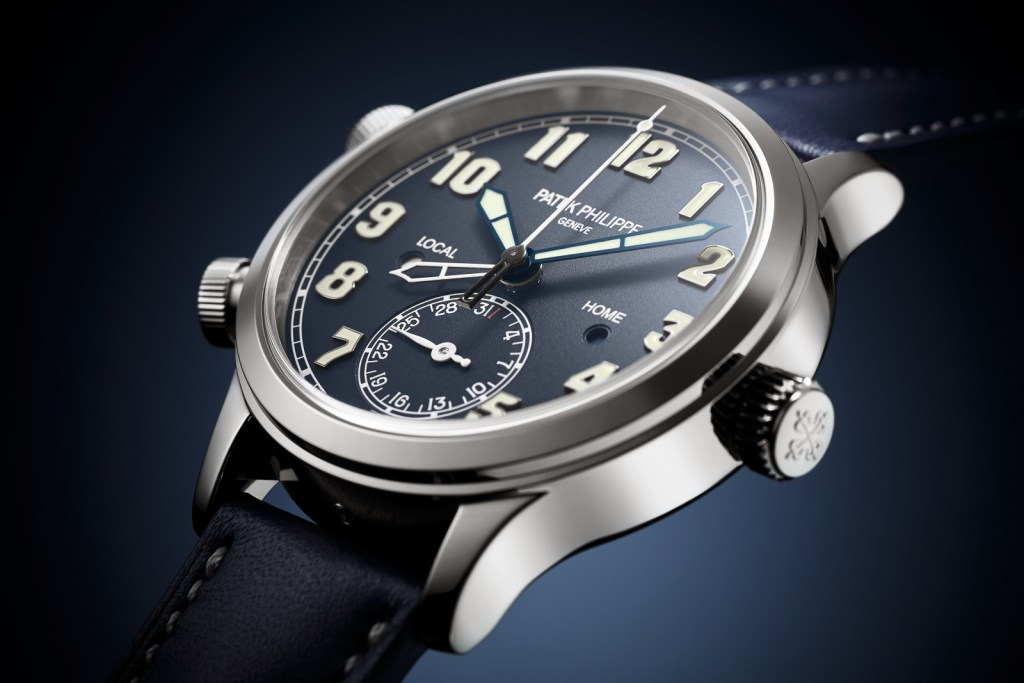 Patek Philippe Calatrava Pilot Travel Time 12 1024x683