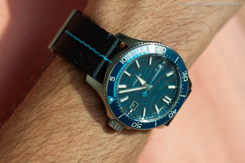 Christopher Ward C60 Blue Limited Edition 45 1024x683