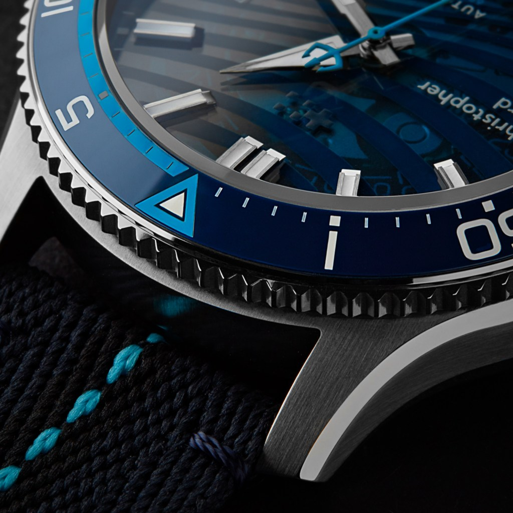 Christopher Ward Sapphire Wave new Christopher Ward C60 BLUE