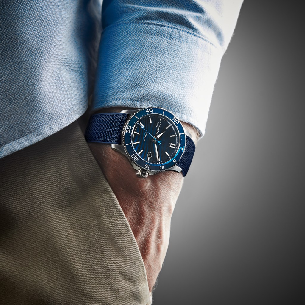 new Christopher Ward C60 BLUE