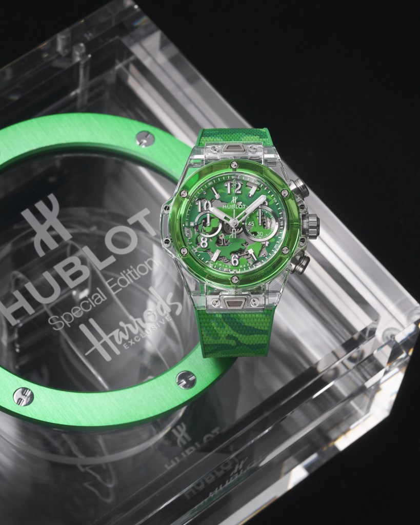new Hublot Big Bang Unico Sapphire Harrods