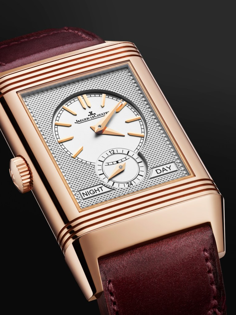New Jaeger-LeCoultre Reverso Tribute Duoface Fagliano Burgundy